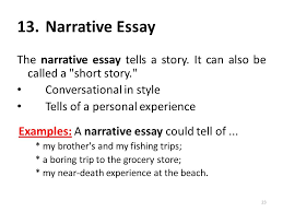 i am anila nosheen from comsats institute of information  narrative essay 5 narrative essay