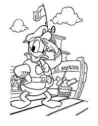 Kleurennu Donald Duck Gaat Op Reis Kleurplaten