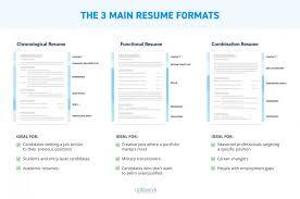 Most Professional Resume Format Cool Resume Formats Pick The Best One In 48 Steps Examples Templates