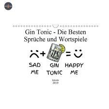 Gin Tonic Die Besten Sprüche Und Wortspiele Kalender Quer