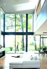 interior glass wall cost walls how much