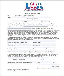 Sample Medical Consent Form | Printable Medical Forms, Letters & Sheets