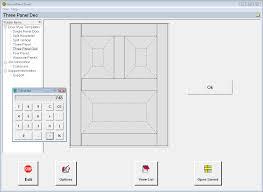 raised panel door calculator