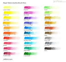 Talens Eoline Brush Pen Royal Talens Ecoline Watercolor