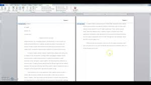 How To Properly Mla Format Research Paper With Word Youtube For