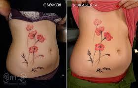 коррекция татуировки после заживления обновление татуировки как