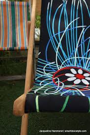 smart deco furniture. Deckchair - Ultraviolet Jellyfish Smart Deco Homeware Lighting And Art By Jacqueline Hammond Furniture