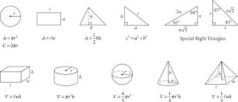 math sample questions the sat® suite of assessments college  the figure presents information for your reference in solving some of the problems reference figure