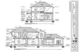 architecture building drawing. Home Plan Set Architecture Building Drawing