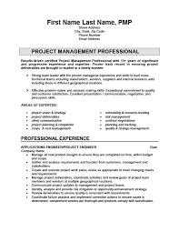 Project Engineer Resume