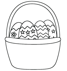 Easter Egg Coloring Pages Egg Coloring Page Free Online Easter Egg
