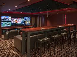 media room lighting. awesome media room with 5 screens theater seating and cool lighting e