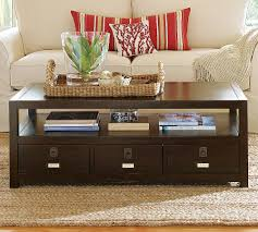 pottery barn coffee table with drawers pk home