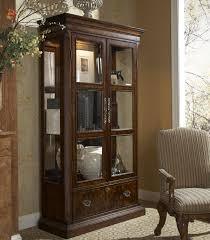 Corner Kitchen Curio Cabinet Traditional Curio China Cabinet By Fine Furniture Design Wolf