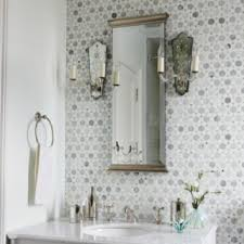 L Powder Room Wall Tile Ideas To Create A Terrific Powder Design With  Appearance 8