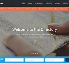 Template For Directory 23 Top Responsive Directory Website Templates 2018 Colorlib