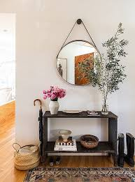 entryway furniture with mirror. iu0027ve shared photos of stylist jessica de ruiteru0027s silver lake home in the past entryway furniture with mirror i