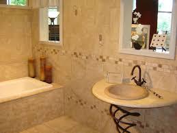 ... Fascinating Classic Tile Pattern Flooring For Interior Decoration :  Handsome Image Of Bathroom Decoration Using Double ...