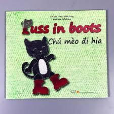 Sách - Cổ Tích Thế Giới - Chú Mèo Đi Hia - Puss In Boots - Song Ngữ, Giá  tháng 12/2020
