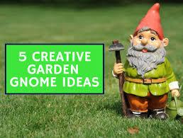 5 creative garden gnome ideas