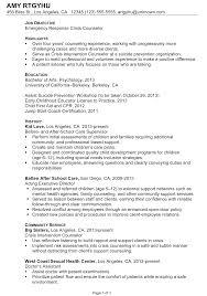 Adoloscent Counselor Sample Resume Social Care Worker Sample