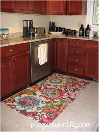 Rubber Floor Kitchen Kitchen Rug With Artistic Patterns Rug Throw Rugs For Kitchen