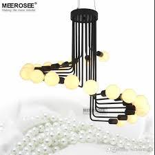 modern loft industrial chandelier lights bar stair dining room lighting retro meerosee chandeliers lamps fixtures res modern pendant lighting chandelier