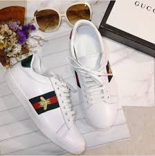 gucci shoes black bee. gucci white bee embroidered ace low top sneaker shoes black w
