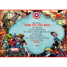 superheroes party invites super hero party invitations thank you cards