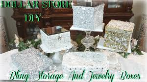 Home Decor Subscription Box DIY DOLLAR STORE BLING STORAGE AND JEWELRY BOXES DIY DOLLAR TREE 76