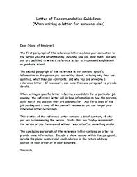 Letters Draft Reference Letter Recommendation Academic Free