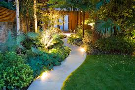 tropical outdoor lighting. tropical outdoor sectional with plastic path lights l andscape asian and garden lighting