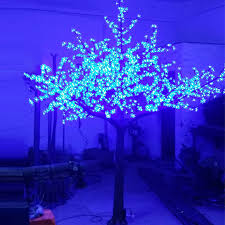 outdoor blossom tree led lights. aliexpress.com : buy 2.5meter 1728leds christmas aritifical 3color changing led cherry blossom tree light for xmas outdoor garden decoration from reliable lights w