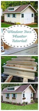 Diy Window Boxes Top 25 Best Window Box Planter Ideas On Pinterest Outdoor