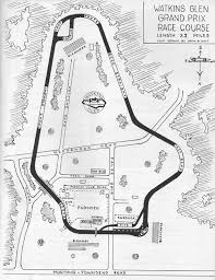 Watkins Glen A History Told In Course Maps Hemmings Daily