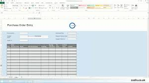 purchase order spreadsheet import purchase orders from excel to sage 200