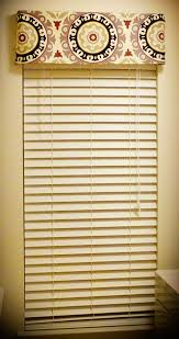 diy no sew valance using a plain white metal curtain rod and heat n