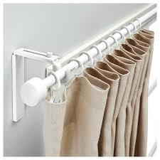 double rod curtain ideas white