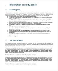 policy templates sample information security policy template rjengineering net
