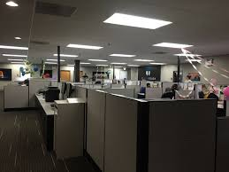 office with cubicles. Main Office (with Cubicles Decorated For Employee Birthdays) - Harbortouch Allentown, PA With F