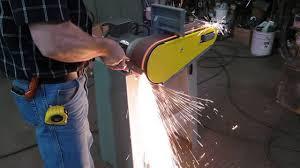 kalamazoo belt grinder. kalamazoo industries bg448 4\ belt grinder