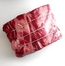 raw prime rib roast. Fine Rib Herb And Garlic Prime Rib Roast Raw Meat Tied With Twine Throughout Raw