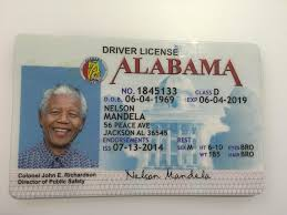 Maker Alabama Id Card Fake