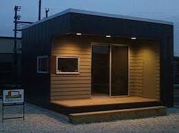 backyard office prefab. tiny modern prefab studio backyard office t