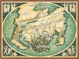 Priscilla Spencer, Fantasy Mapmaker – The Map Room
