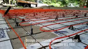 In Slab Radiant Heating Design Diy Concrete Slab Radiant Heat By Radiantec