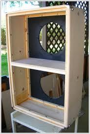 guitar storage cabinet plans cabinet home decorating 2x12 speaker cab diy guitar speaker cabinet