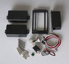 active humbucking pickups set 81 85 works emg output jack image is loading active humbucking pickups set 81 85 works