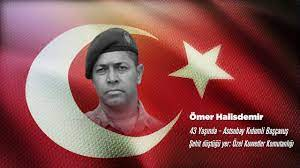 Şehit Ömer HALİSDEMİR | Türkiye Emekli Astsubaylar Derneği – TEMAD