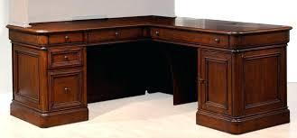 desk curved l shaped cherry wood corner cherry